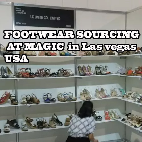 Footwear Sourcing at Magic, Las vegas, USA